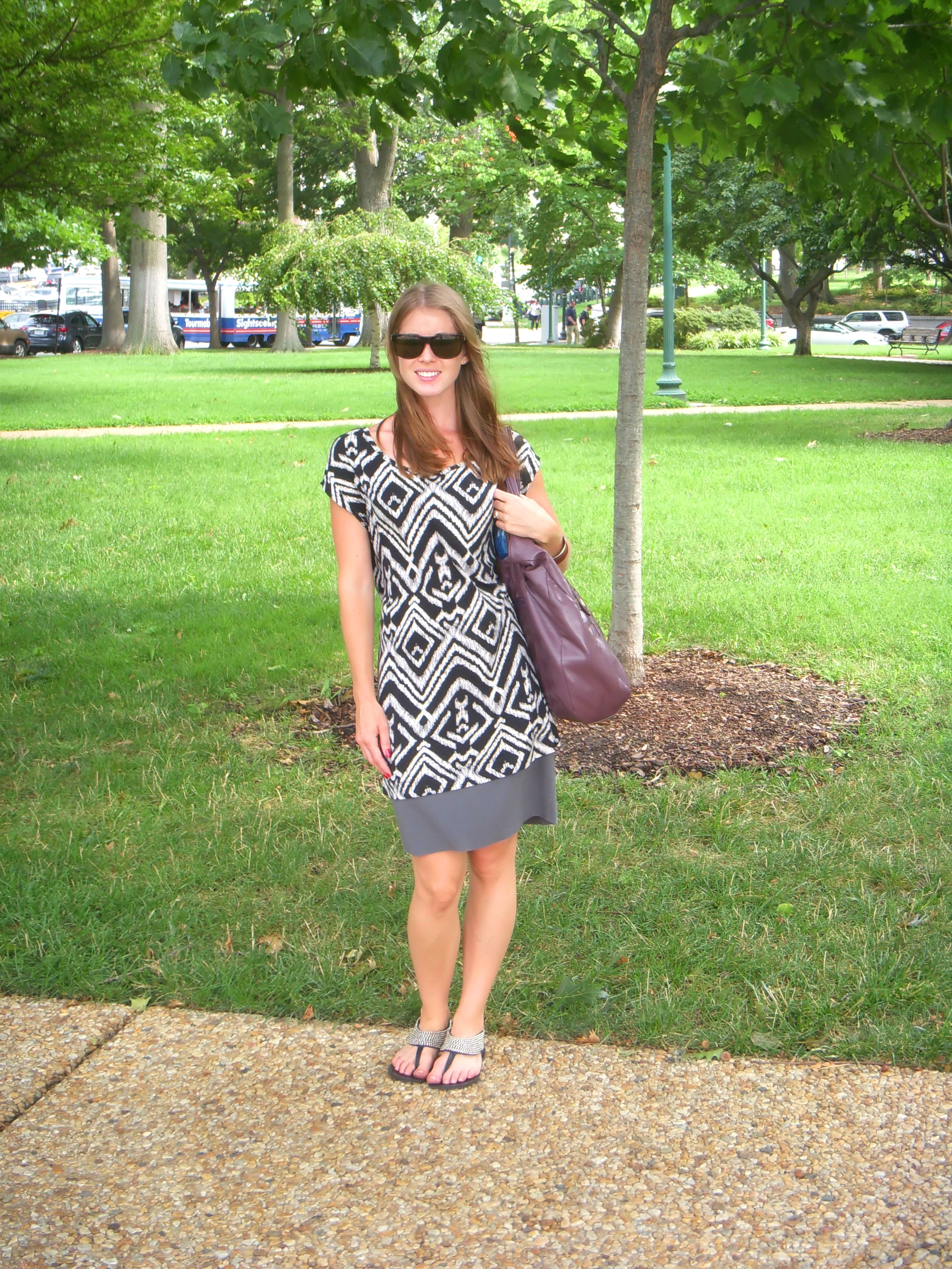I chose a tribal print tunic