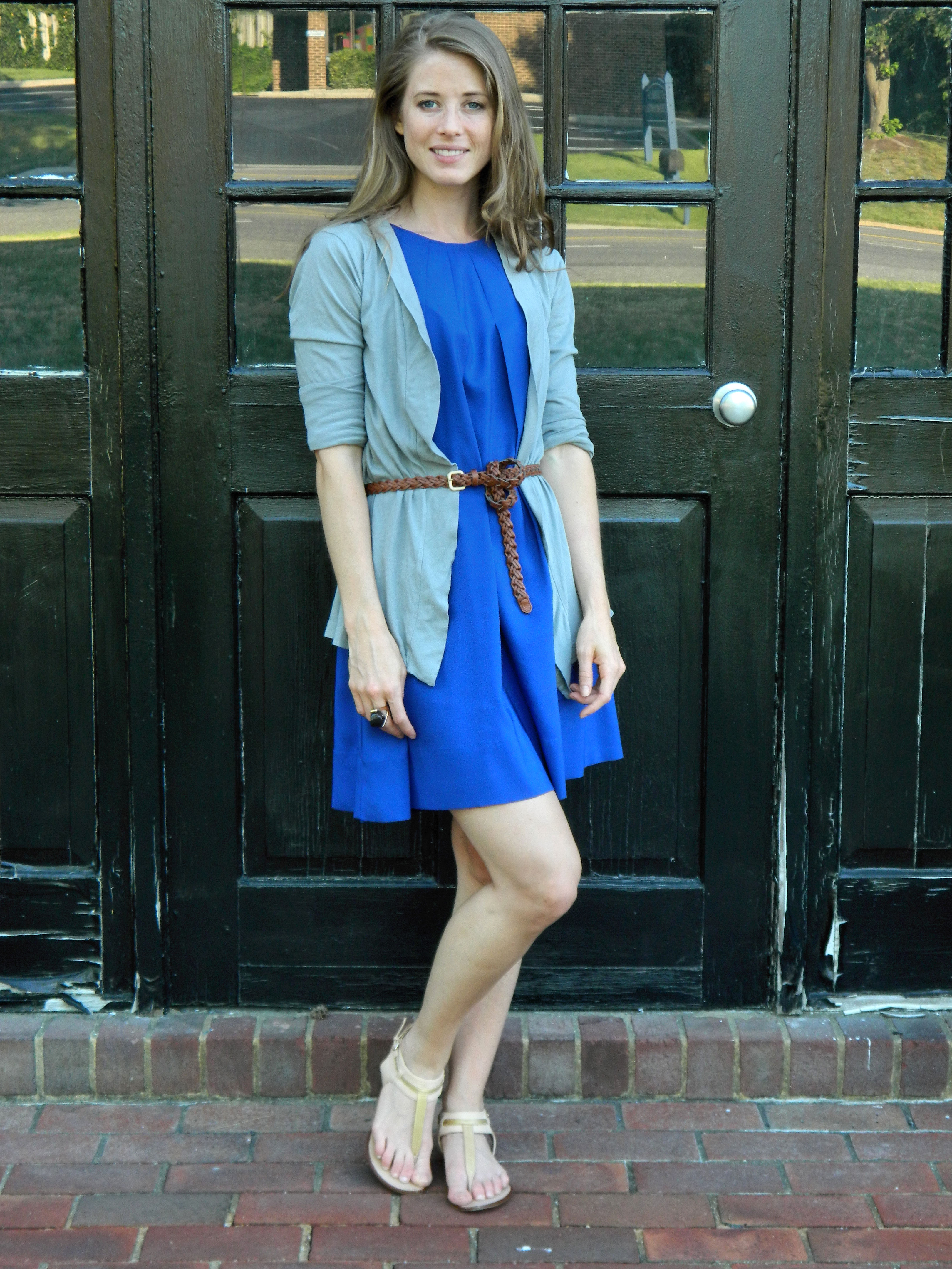 Midweek Chic Tied Up Chic Stripes