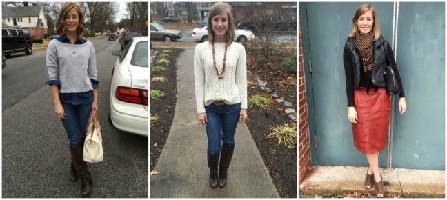 2015 30 Day Style Challenge - week 1
