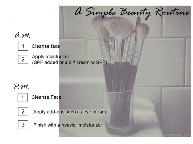 2015.2.27 A Simple Beauty Routine - Elements Beauty Shop