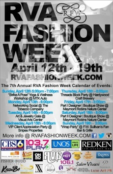 RVAFW poster bw