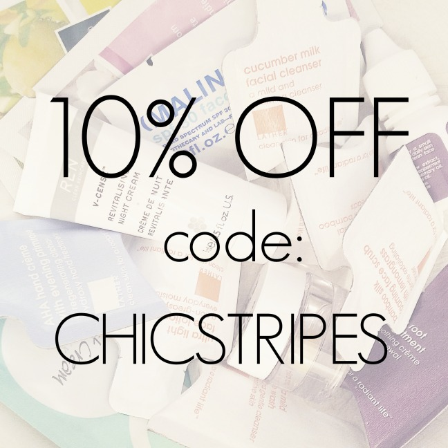 elements 10 percent off code chicstripes